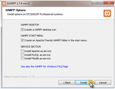 Setup WordPress using XAMPP